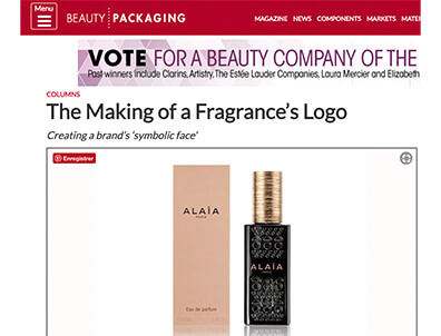 The Fragrance Logo: Pierre Katz in Beauty Packaging