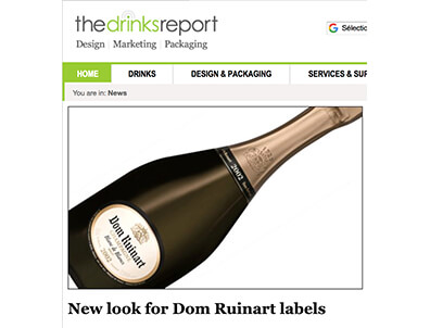 New Dom Ruinart: Pierre Katz in the Drinks Report